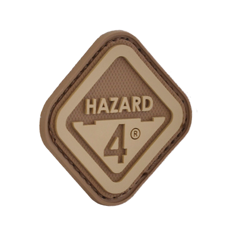 3D-Patch Hazard 4 Diamond Shape Morale coyote