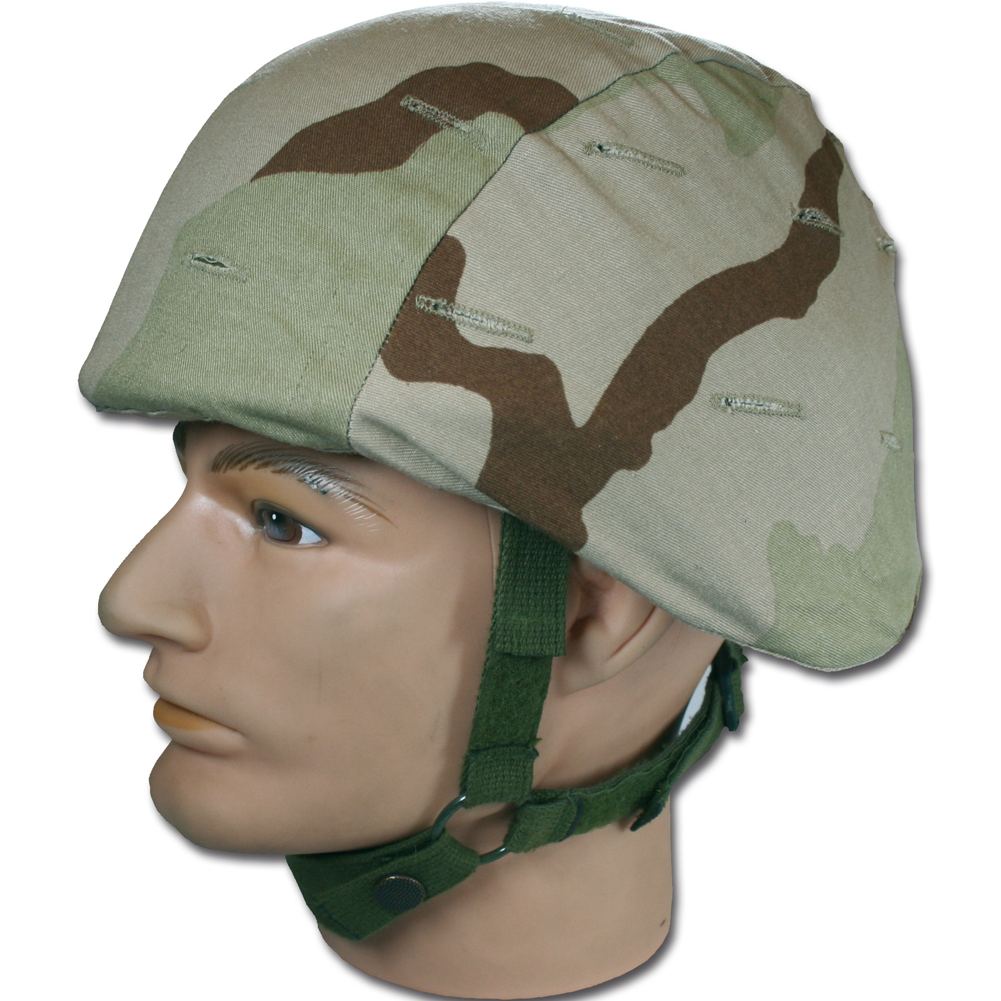 Helmbezug US Kevlar desert 3-color