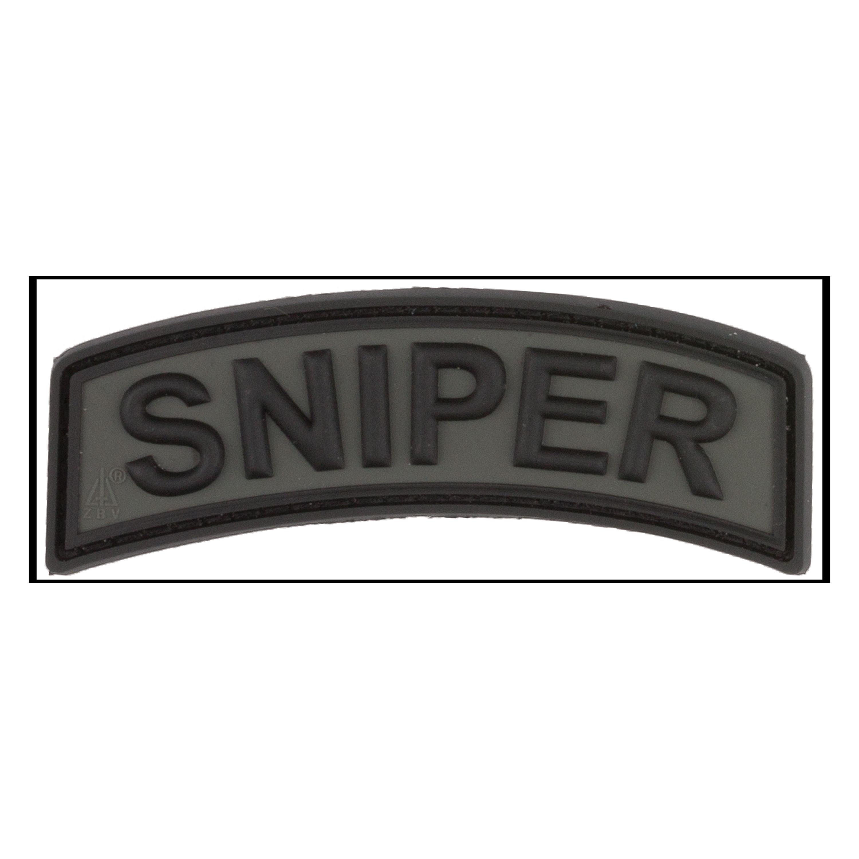 3D-Patch Sniper Tab battlegrey