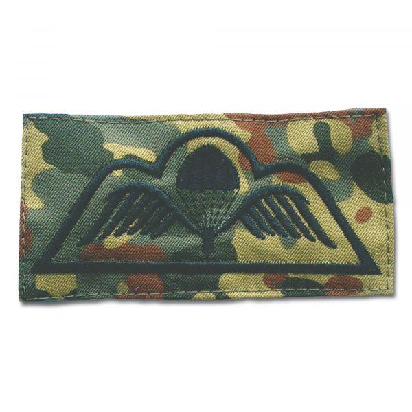 Abzeichen Springer Textil Belgien flecktarn