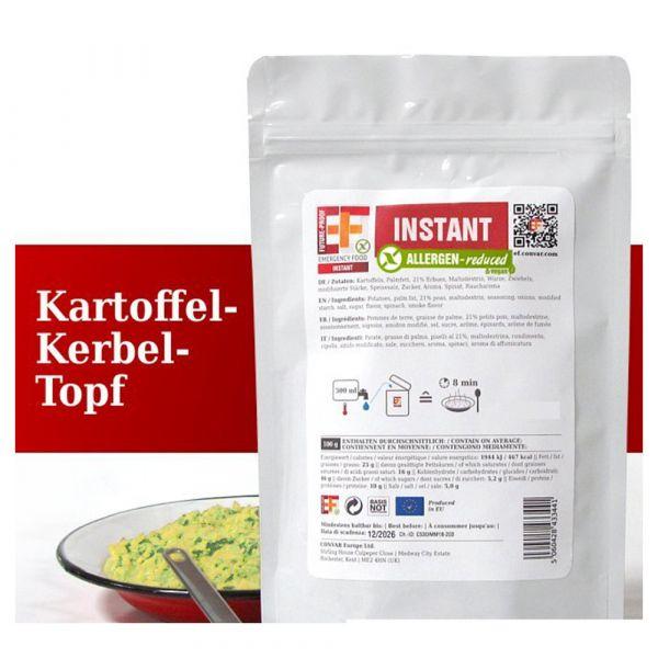 EF Emergency Food Kartoffelkerbeltopf Tüte
