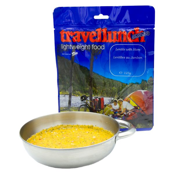 Travellunch Linseneintopf