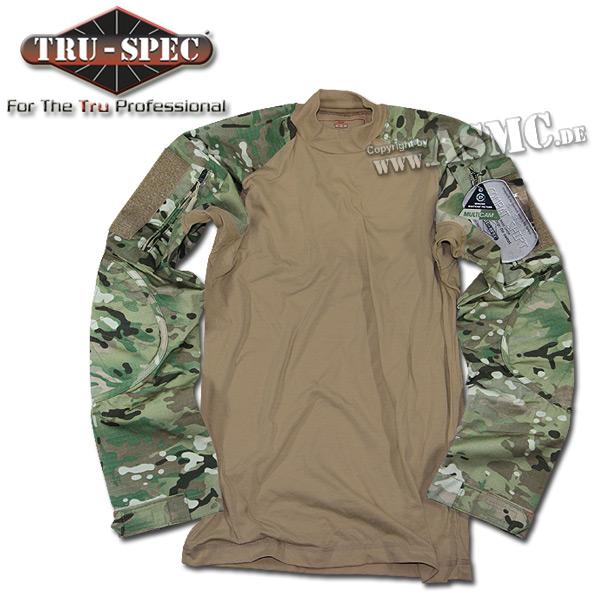 Combat Shirt Multicam TruSpec coyote