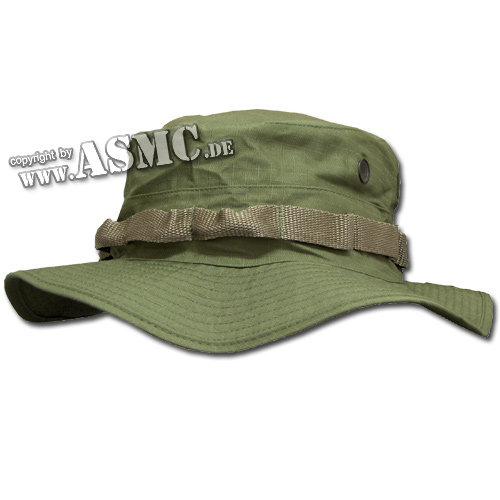 Boonie hat oliv Import