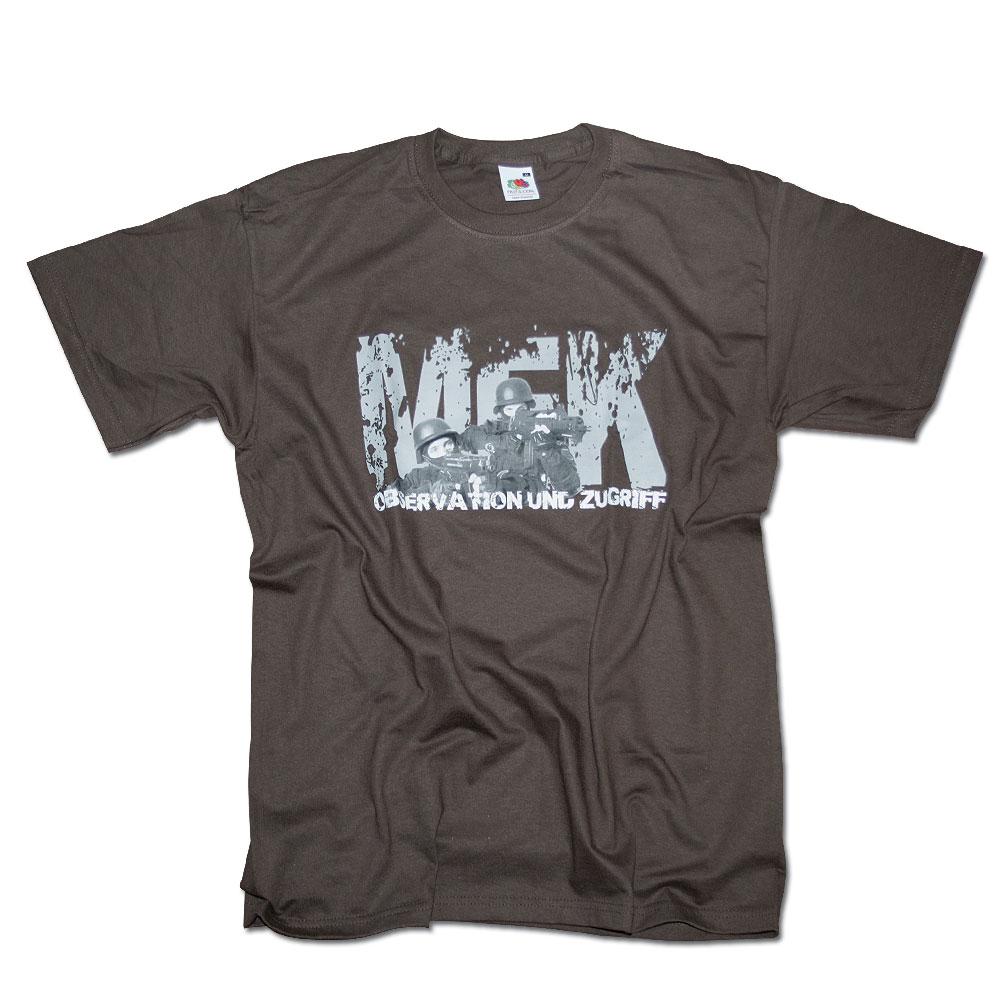 T-Shirt MEK Milty69 braun