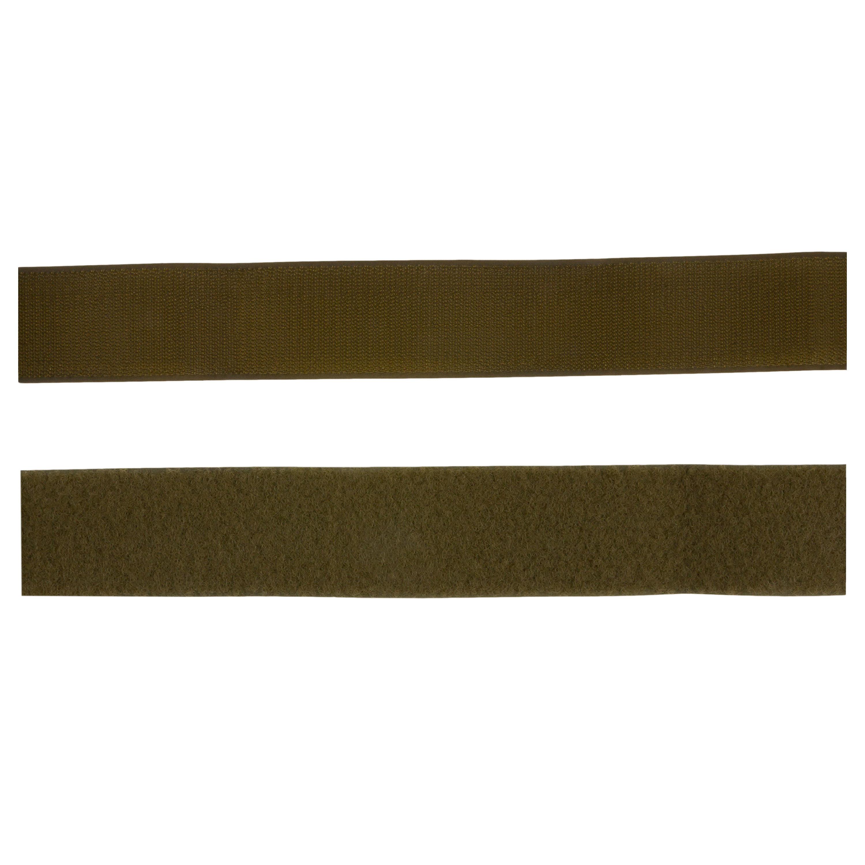 Klettband oliv 2-tlg. 20 mm (Meterware)