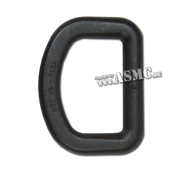 D-Ring Plastik 25mm