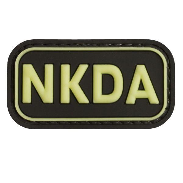 TAP 3D Patch NKDA – No Known Drug Allergies nachleuchtend