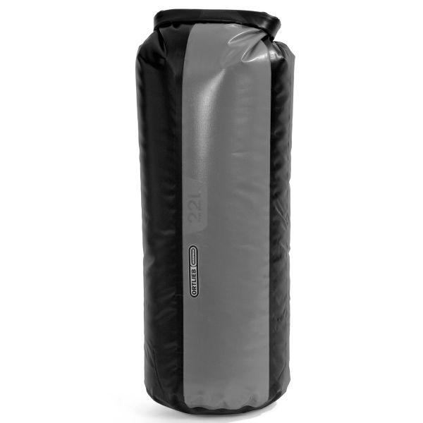 Ortlieb Packsack Dry-Bag PD350 22 Liter grau schwarz