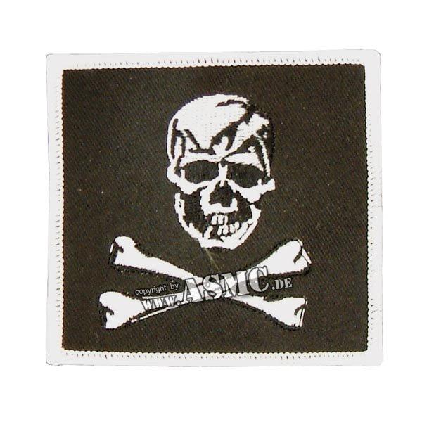 Abzeichen US Textil Skull
