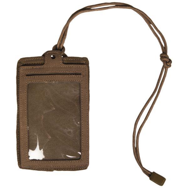 ID Card Case dark coyote