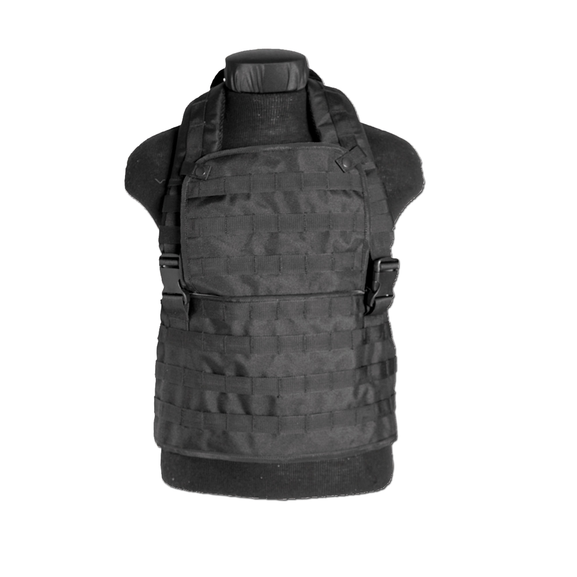 Chest Rig MOLLE expandable schwarz