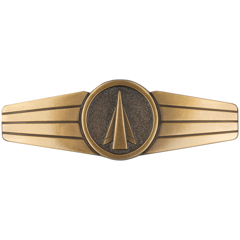 Abzeichen BW Raketen- und Flugkörperpersonal Metall bronze