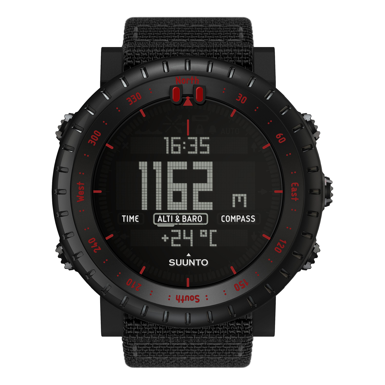 Suunto Uhr Core Tac Edition schwarz rot