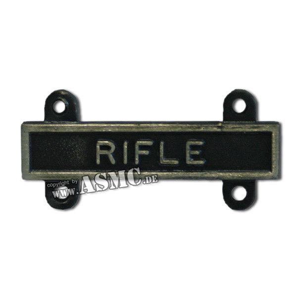 Abzeichen US Qual. Bar Rifle