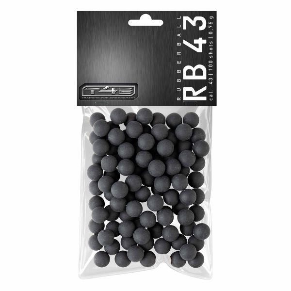 T4E Home Defense Rubberballs Prac Series Kaliber .43 100 Stück