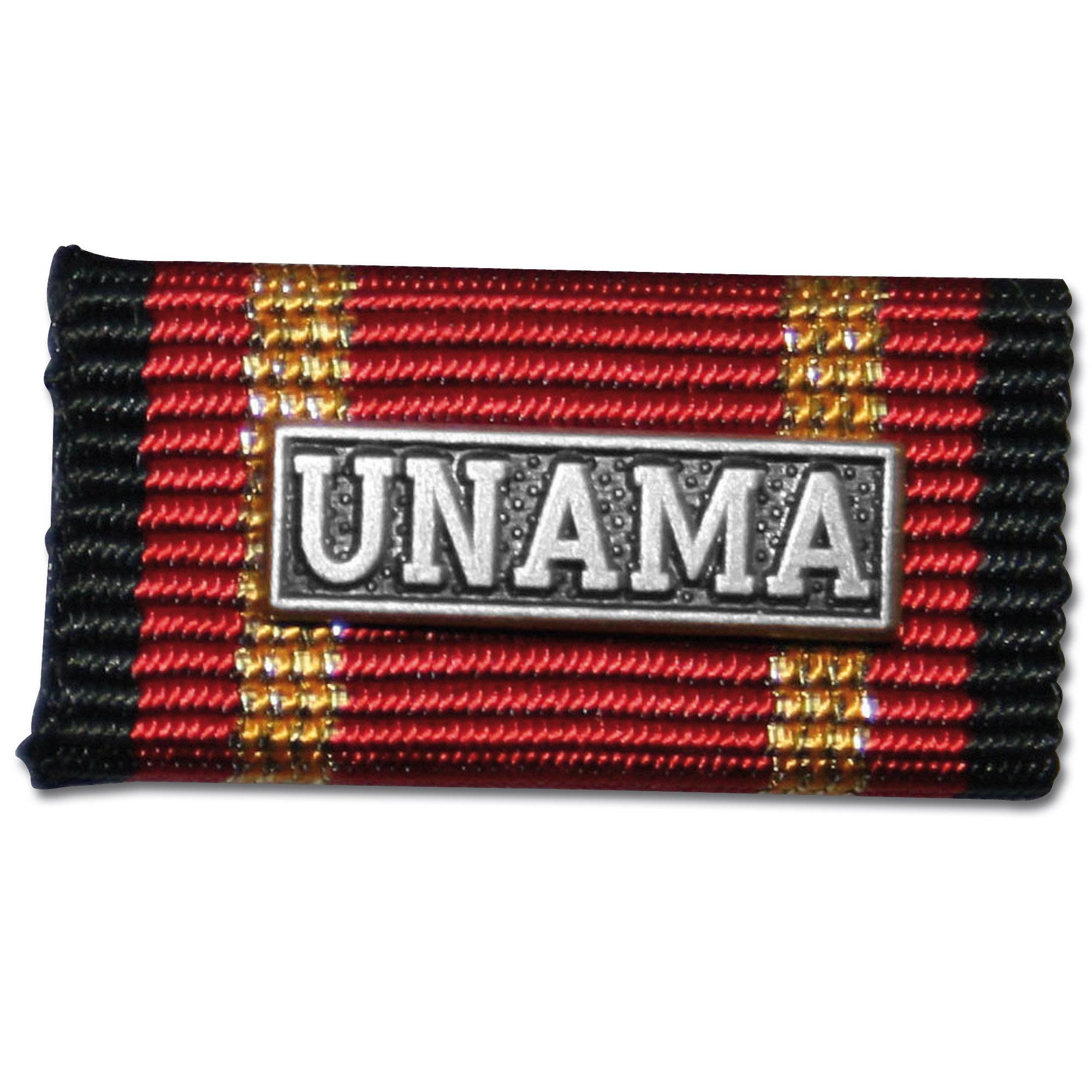 Ordensspange Auslandseinsatz UNAMA silber