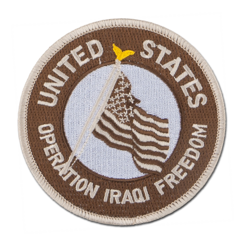 Abzeichen US Textil Iraqi Freedom