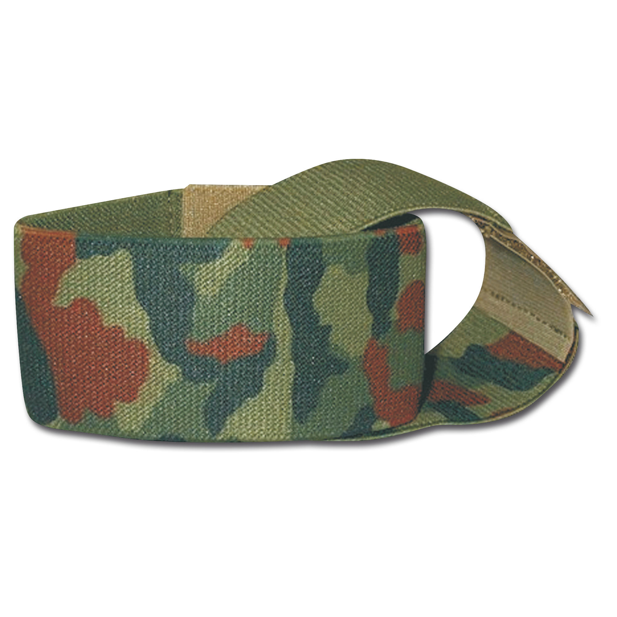 Hosengummibänder 5 cm oliv/tarn