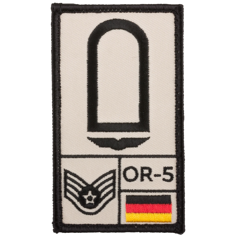 Café Viereck Rank Patch Stabsunteroffizier Luftwaffe sand