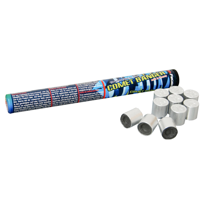 Zink Feuerwerk Comet-Banger Signalsterne 15 mm 10 Stück