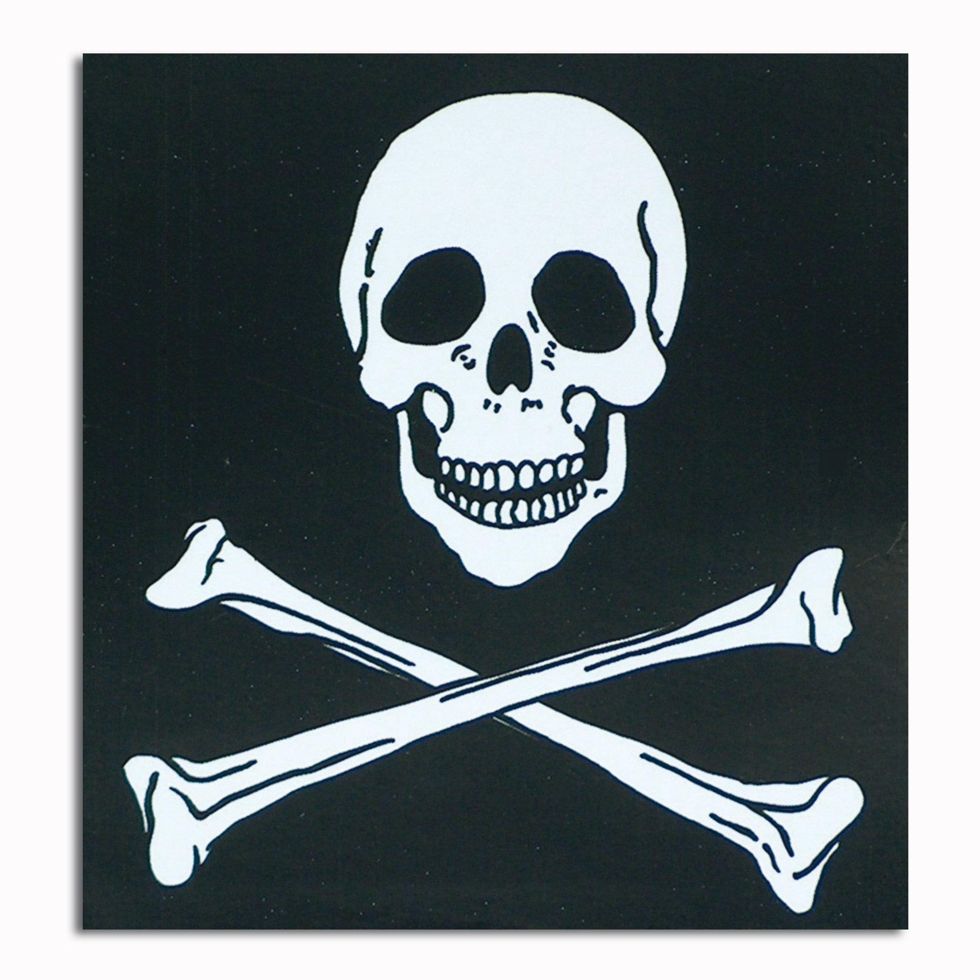Aufkleber Skull