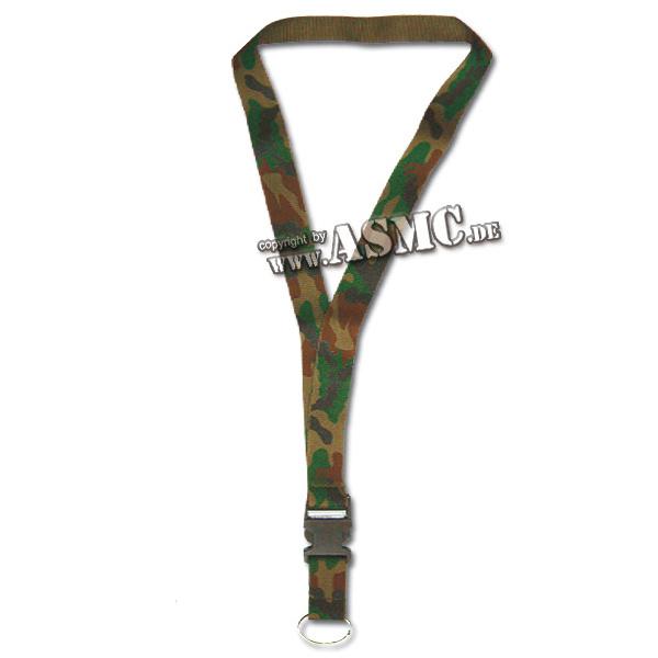 Halsband mit Schlüsselanhänger tarn