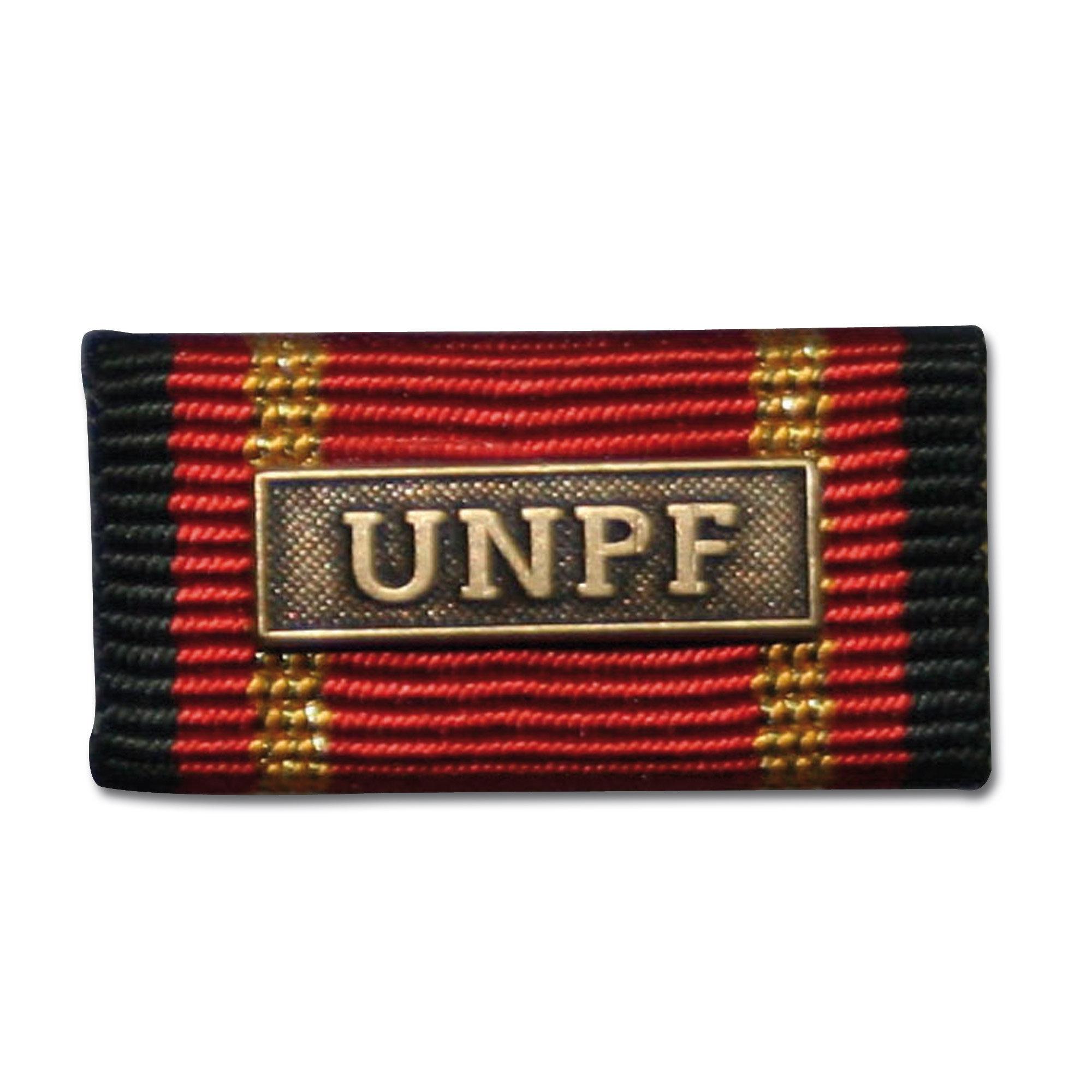 Ordensspange Auslandseinsatz UNPF bronze