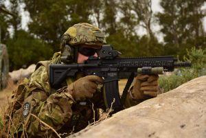 Red dot sight on my HK416 A5