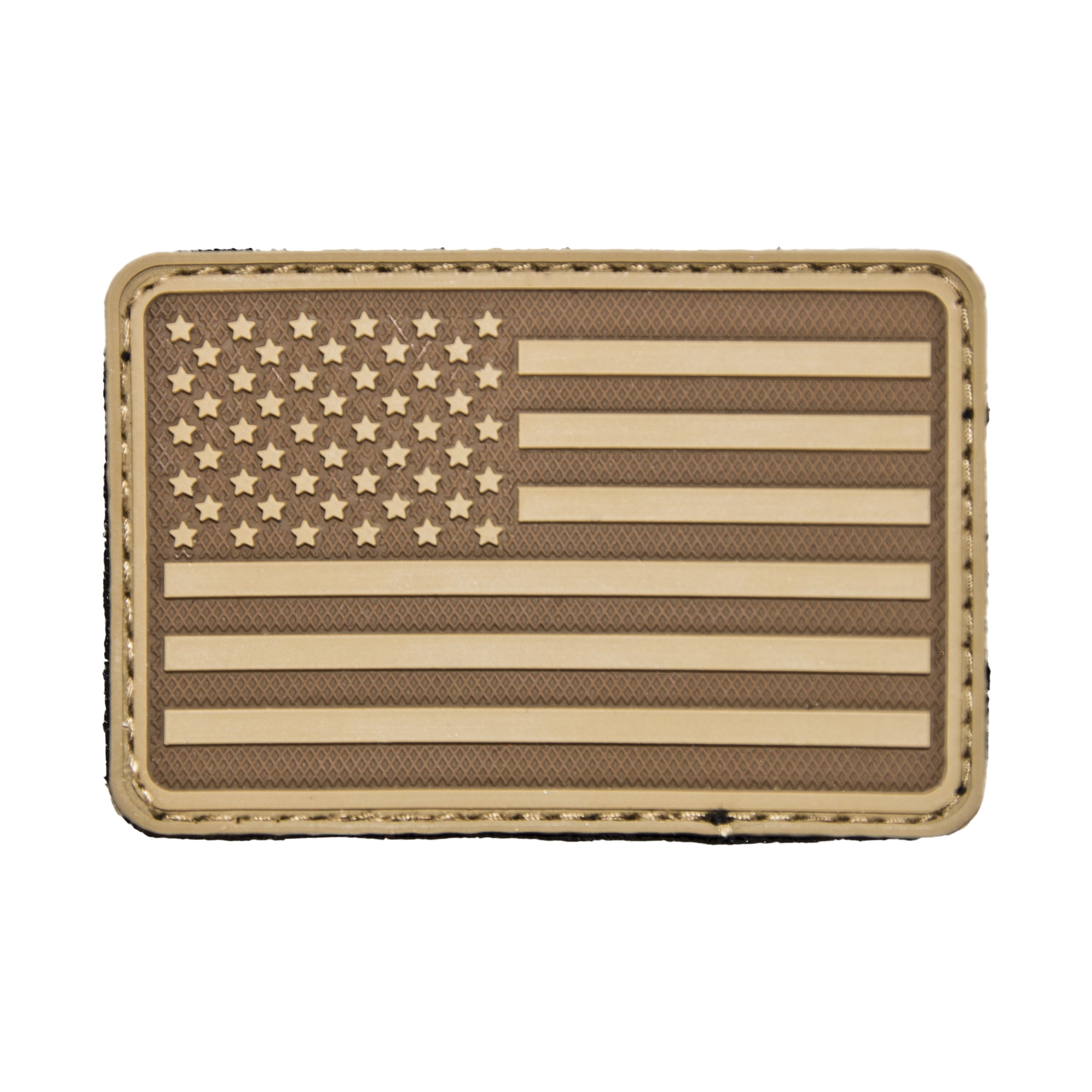 3D-Patch Hazard 4 USA Flag links coyote