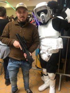 Avec un Storm-trooper