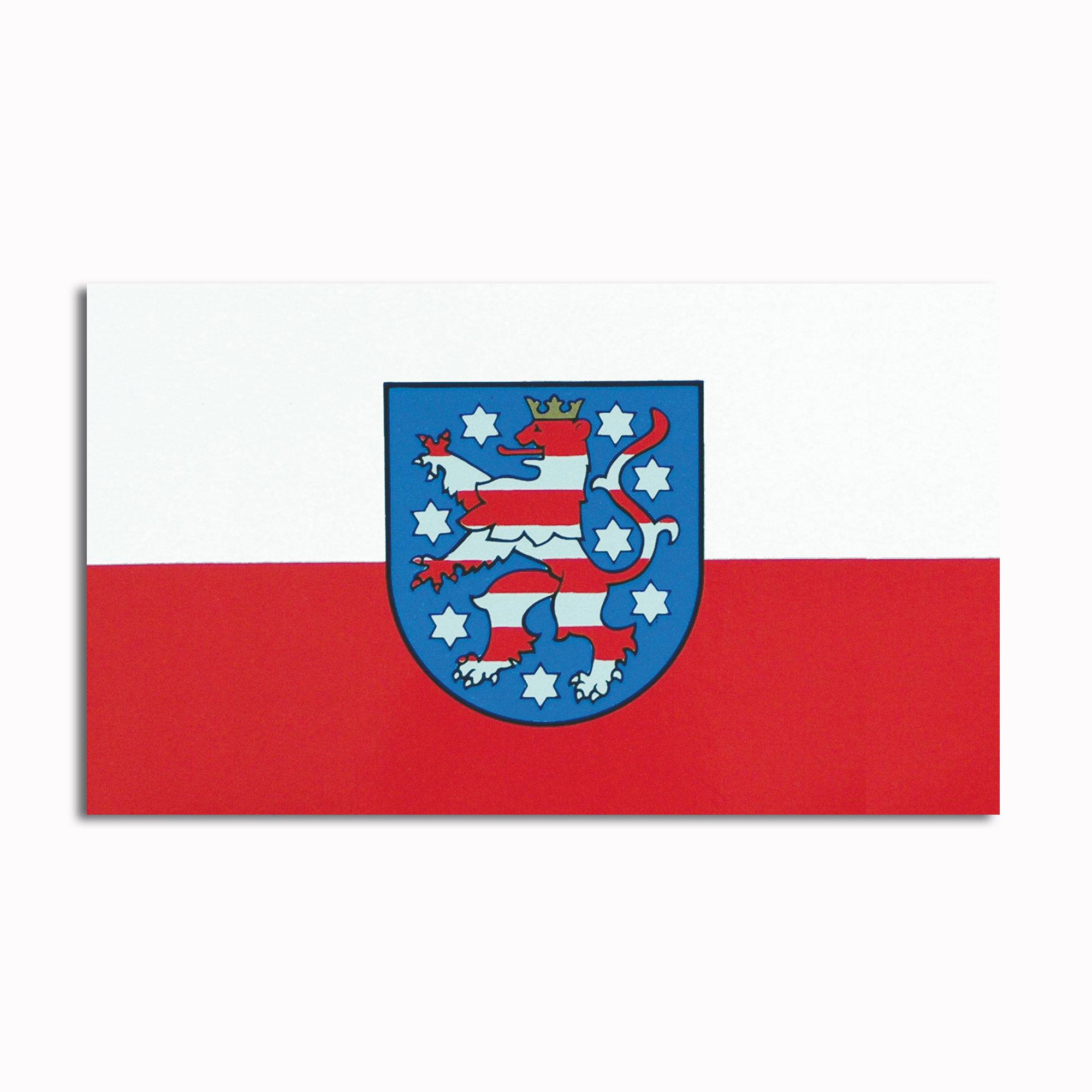Aufkleber Thüringen