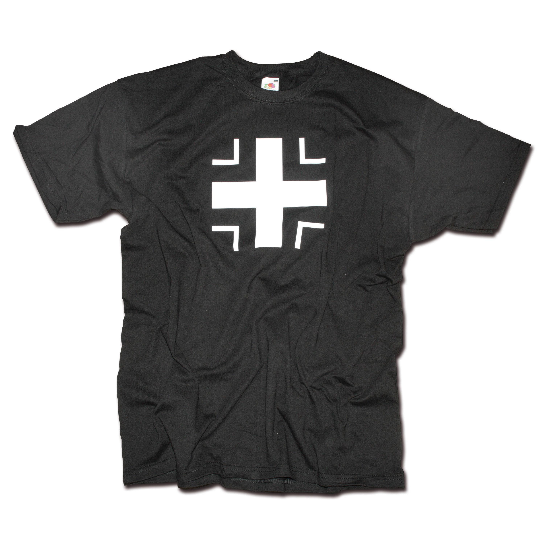 T-Shirt Milty Balkenkreuz schwarz