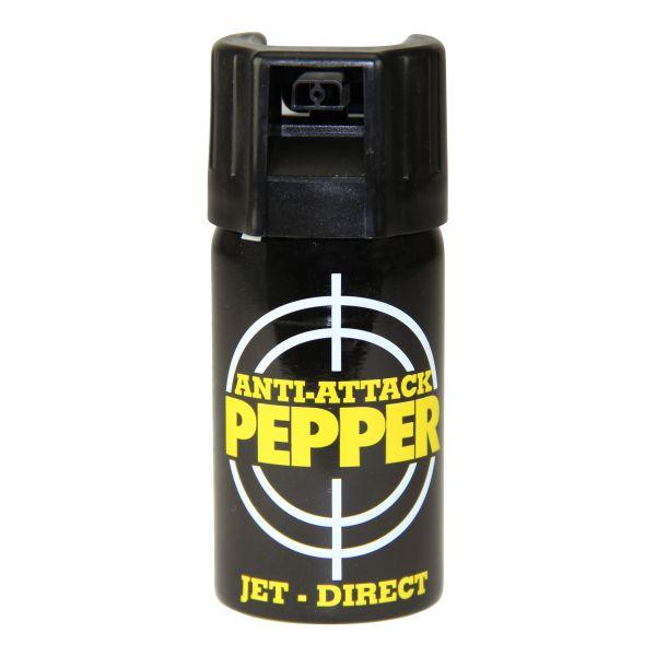 Pfefferspray Anti Attack Punktstrahl 40 ml
