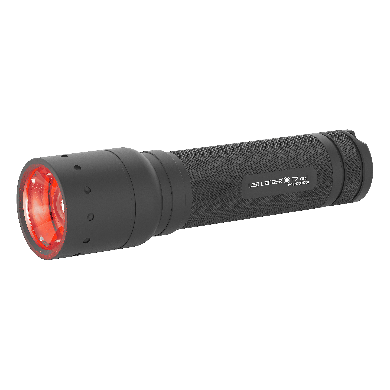 LED Lenser Taschenlampe T7.2 rot