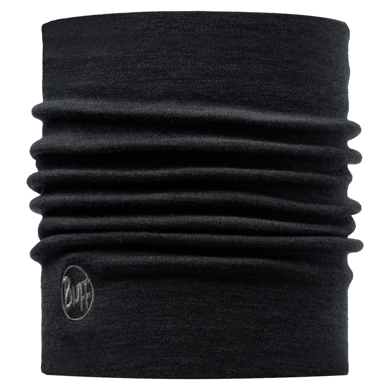 Buff Halswärmer Merino thermal schwarz