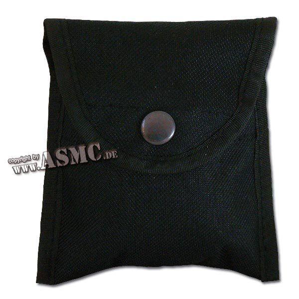 Kompasstasche Nylon schwarz