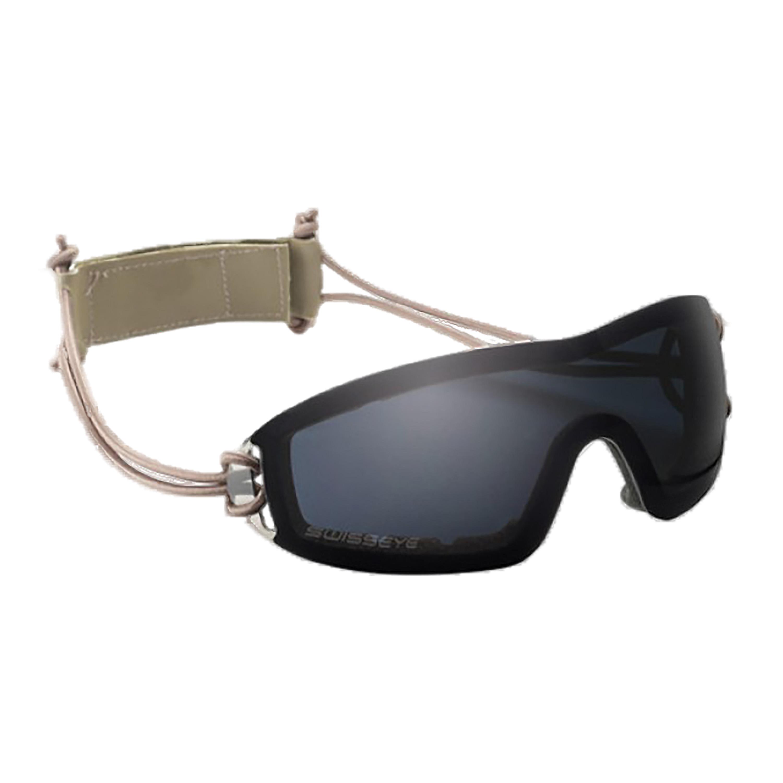 Swiss Eye Schutzbrille Infantry Smoke