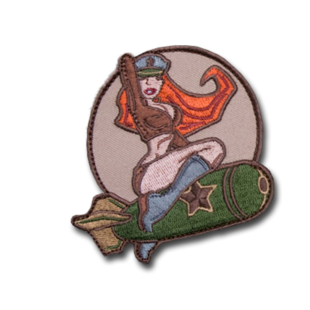 MilSpecMonkey Patch Pinup Girl arid