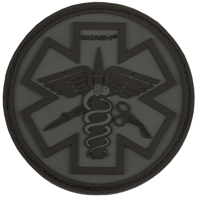 3D-Patch Hazard 4 Paramedic schwarz