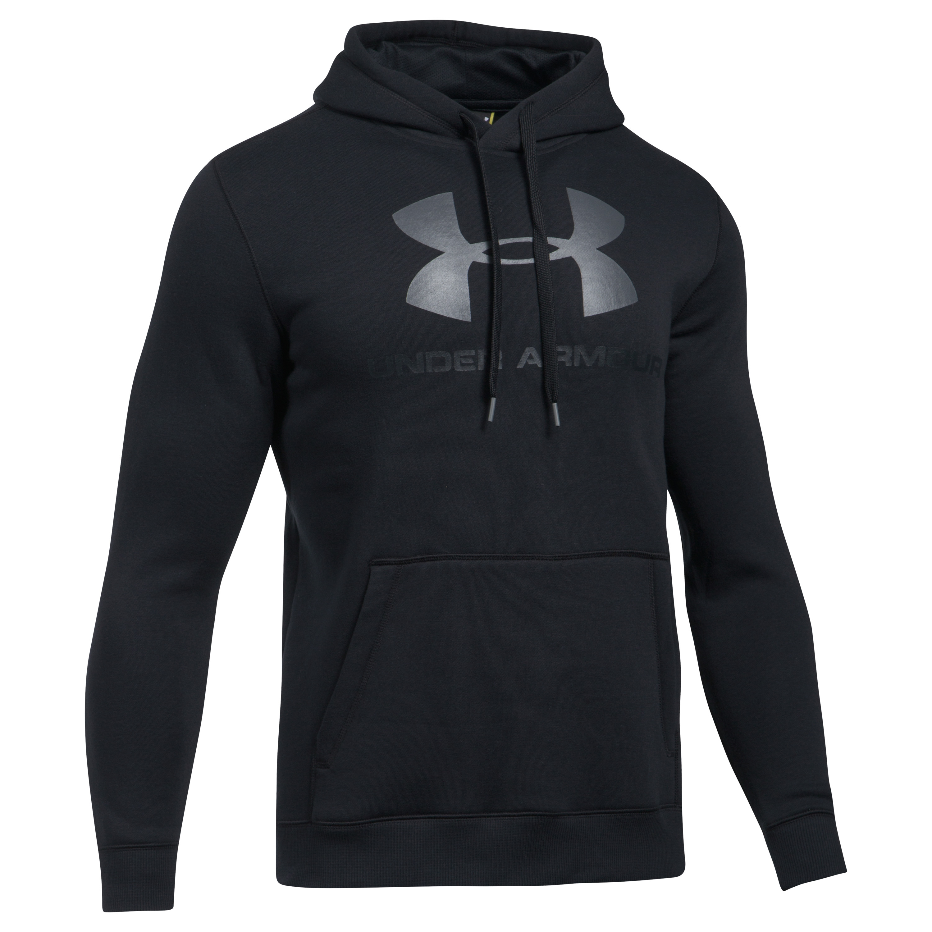Under Armour Hoodie Rival Fitted Graphic schwarz