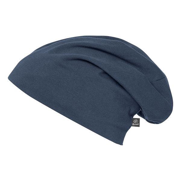 Brandit Beanie Jersey blau
