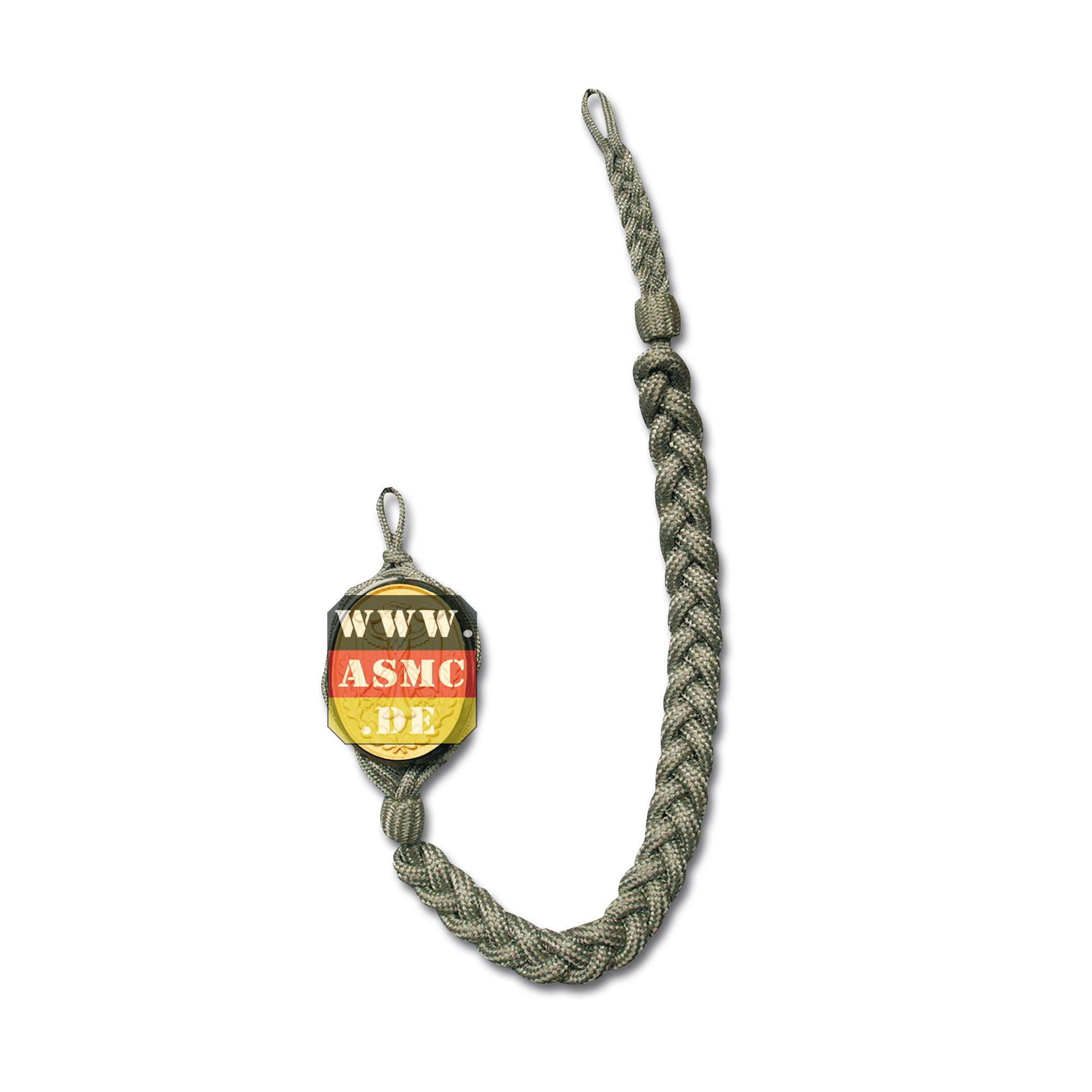 BW Schützenschnur mit Abzeichen gold