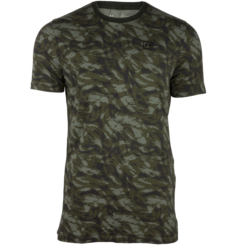 Under Armour Shirt AOP Sportstyle oliv camo