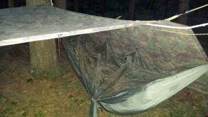 Aufbau mit Shelter Sheet