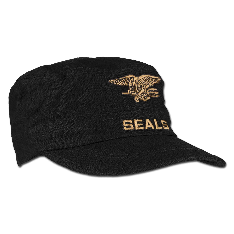 Seals Cap Mil-Tec schwarz