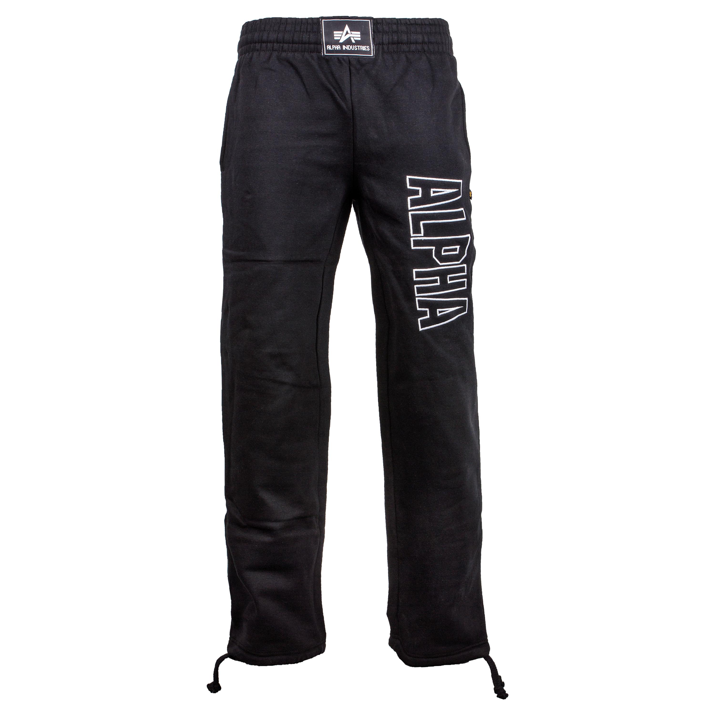 Sweatpants Alpha Industries Track schwarz