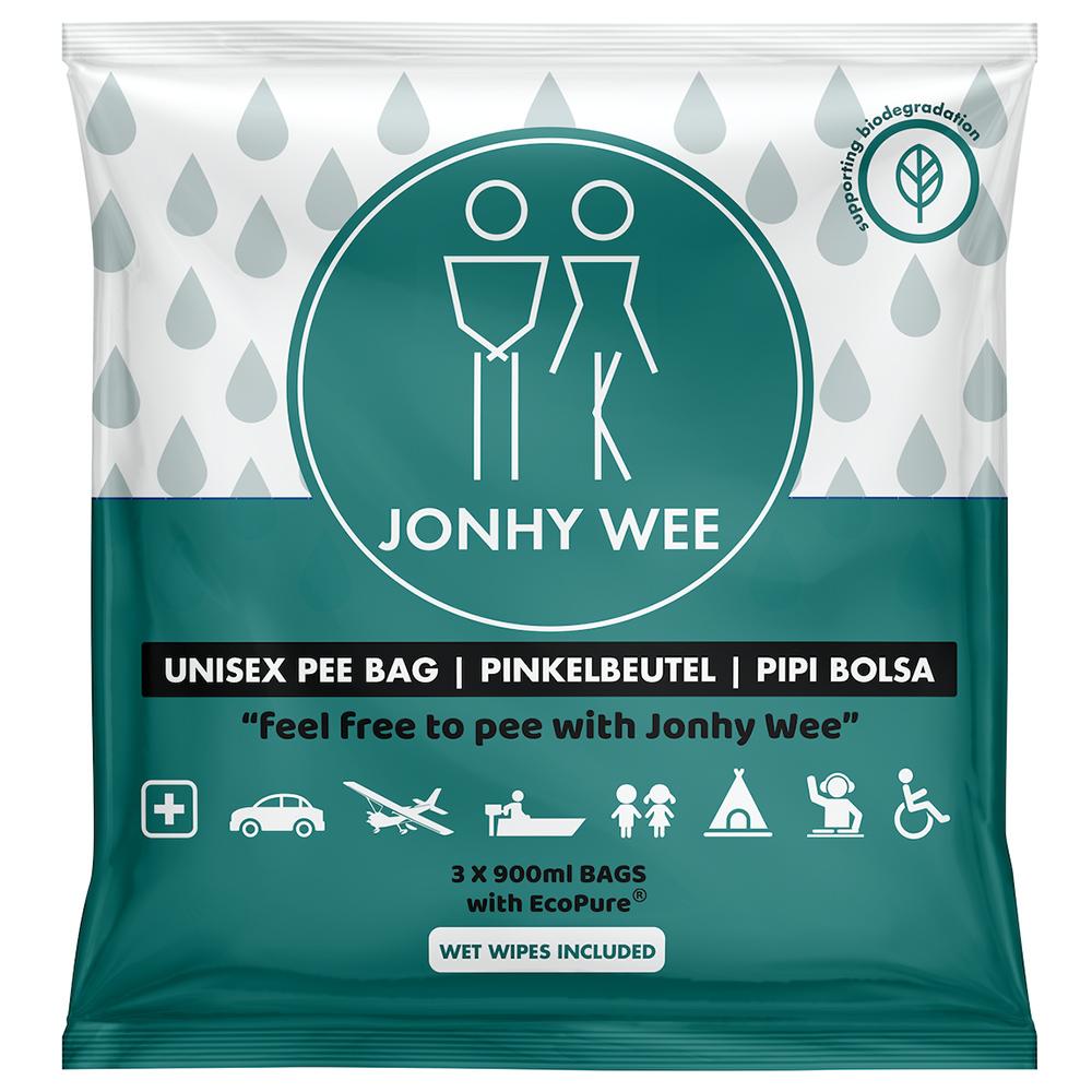 Jonhy Wee Unisex Pinkelbeutel 900 ml