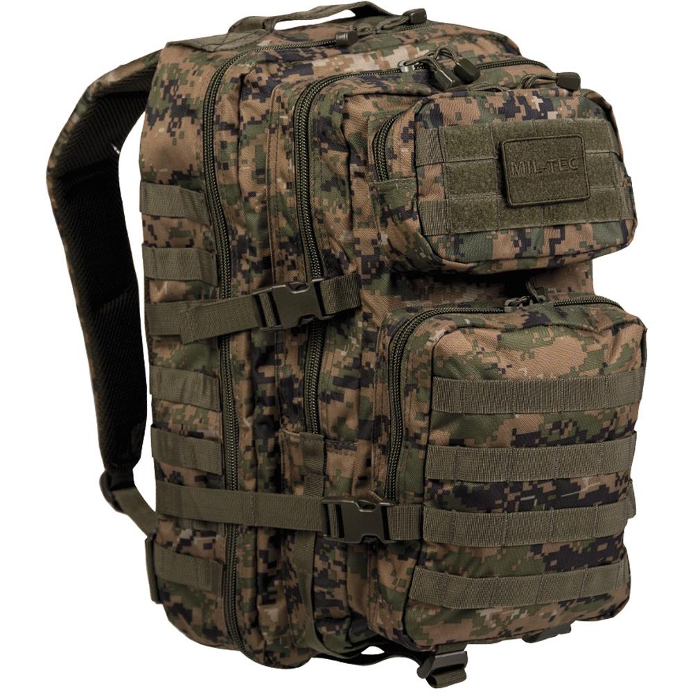 Rucksack US Assault Pack II digital-woodland