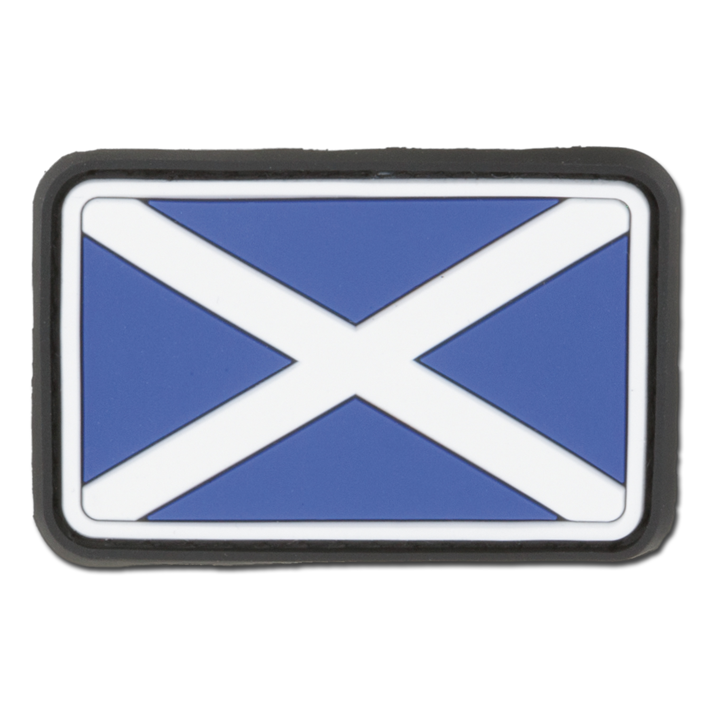 3D-Patch Schottland fullcolor klein